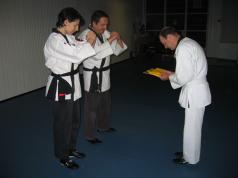 Rinaldo Paderni, 2004 - Esame CSKF