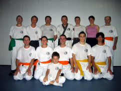 Foto di gruppo, 2004 - Esame CSKF